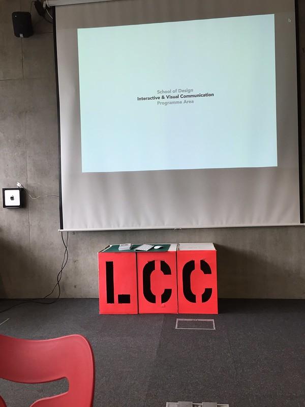 UAL: LCC digital design lunch