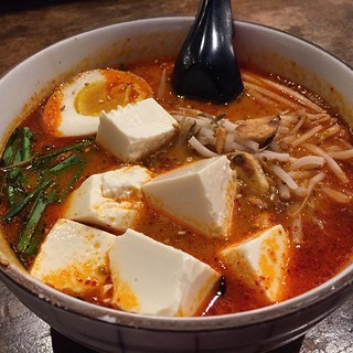 #kvpinmybelly Spicy Sesame Ramen at Tajima in #SanDiego Kearny Mesa. Subbed out ground pork for tofu. NOM! #ramenlove | by queenkv