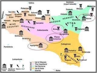אתרים בסיציליה