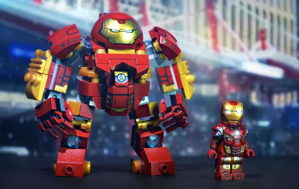 Lego Age Of Ultron Hulkbuster By Legohaulic W Mark 43 Flickr