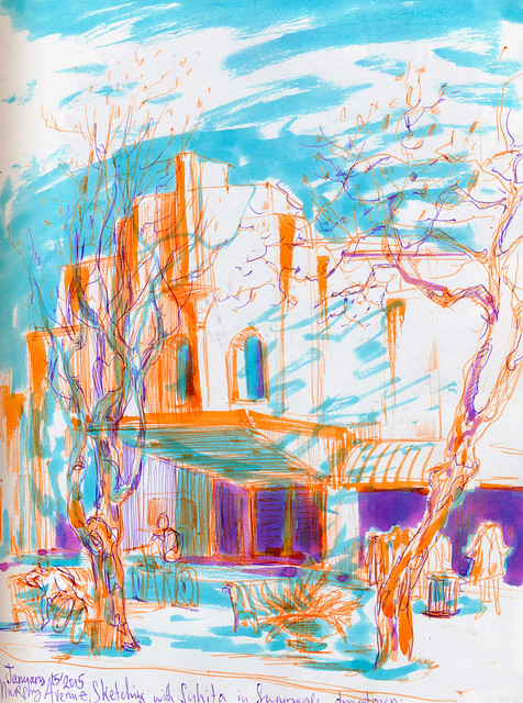 Sketching Sunnyvale with Suhita