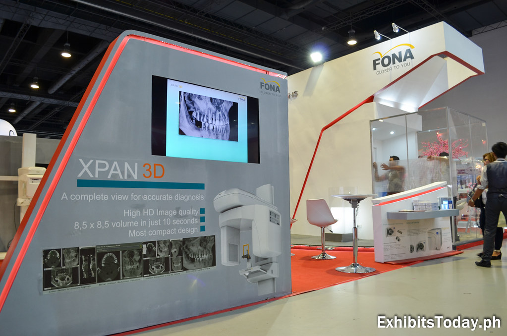 Fona Trade Show Display (side)