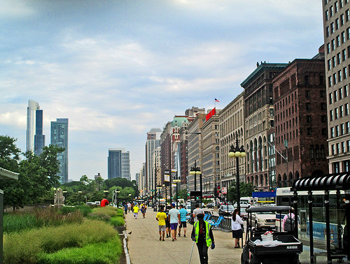 S Michigan Avenue 075 - towards the south | by worldtravelimages.net