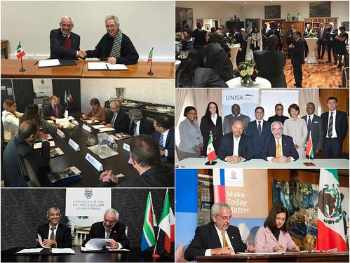 El rector de la UNAM, Dr. Enrique Graue Wiechers, realiza visita de trabajo a Sudáfrica