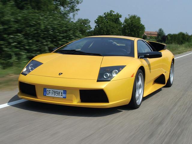 Суперкар Lamborghini Murcielago. 2001 – 2006 годы