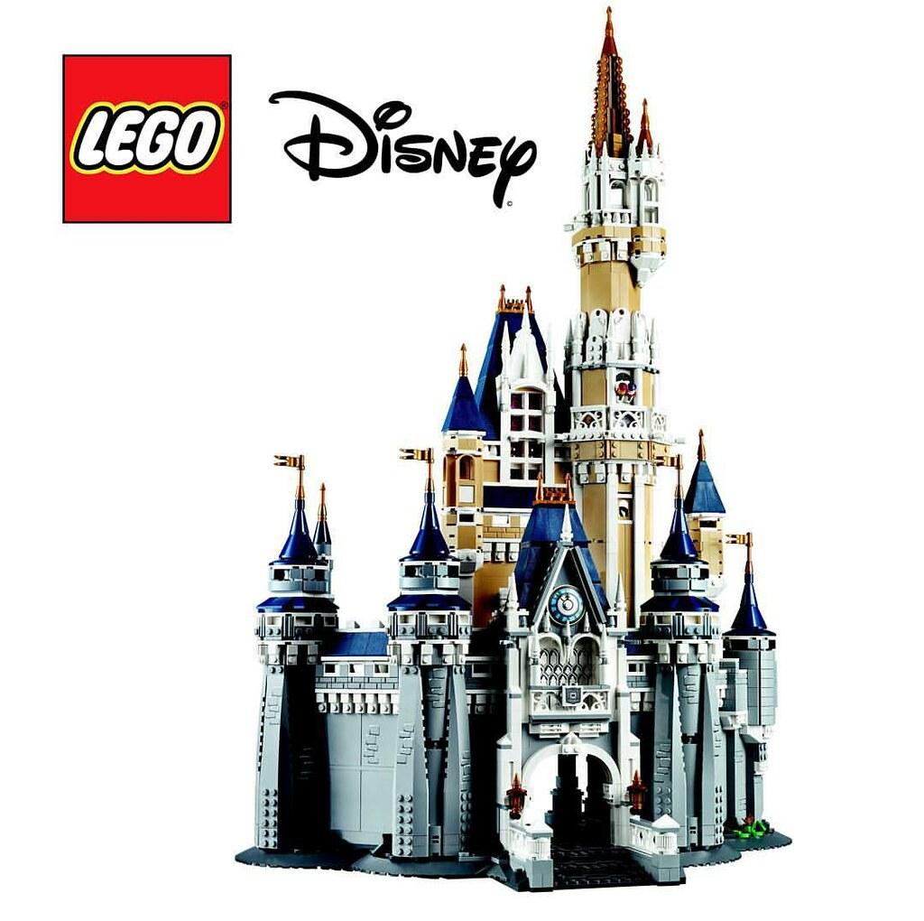 lego disney world 71040 cinderella castle by the brick time team