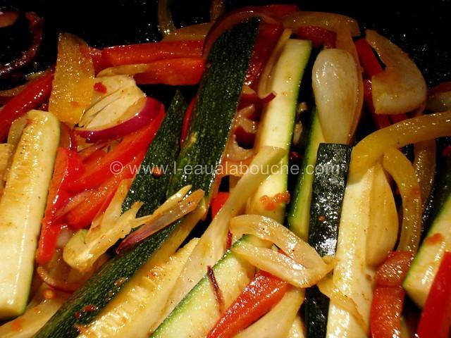 Poulet au Curry Rouge Thaï & Légumes Sautés © Ana Luthi Tous droits réservés 04