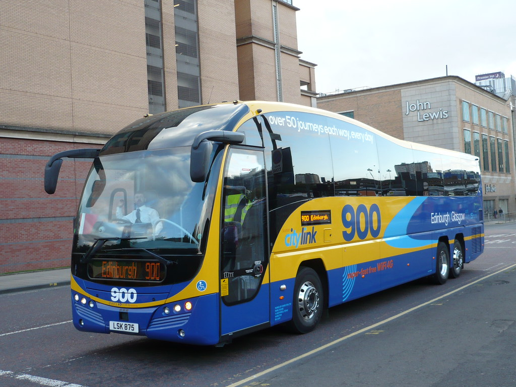 Scottish Citylink Parks Of Hamilton Volvo B11rt Plaxton