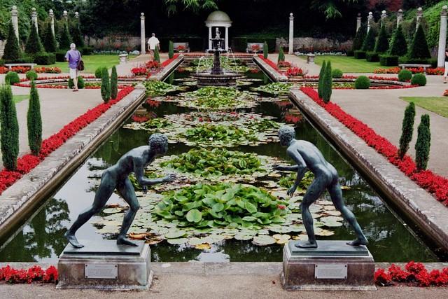 Jardin italien compton acres poole dorset angleterre for Jardin italien