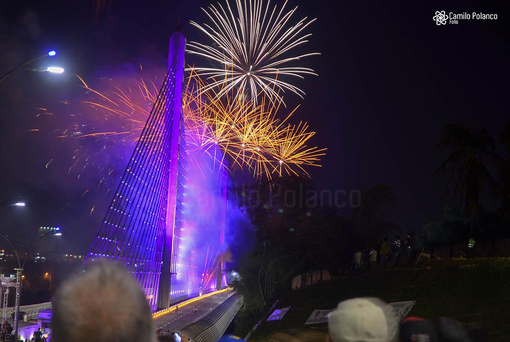 Puente del bicentenario en Bucaramanga