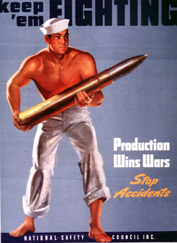 World War II Posters - Keep em Fighting