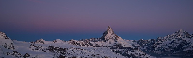 The Matterhorn at dawn - Zermatt