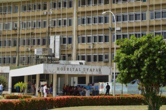 Sin especialista se encuentra el Hospital Uyapar de Puerto Ordaz