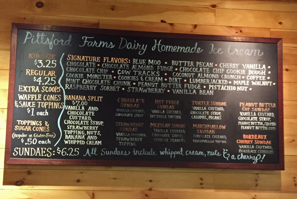 pittsford farms dairy and bakery