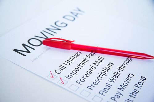 Moving Day - Checklist