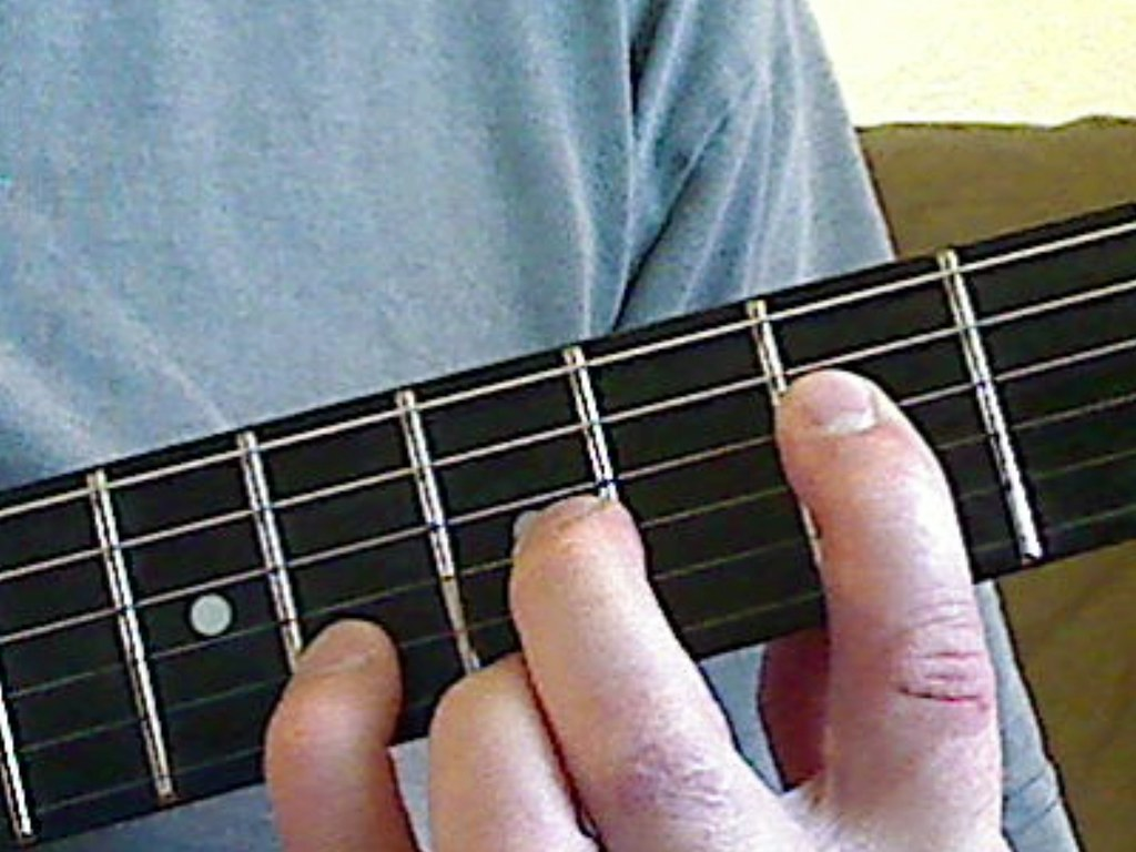 F Chord Guitar Finger Position Via All About Guitars M Flickr