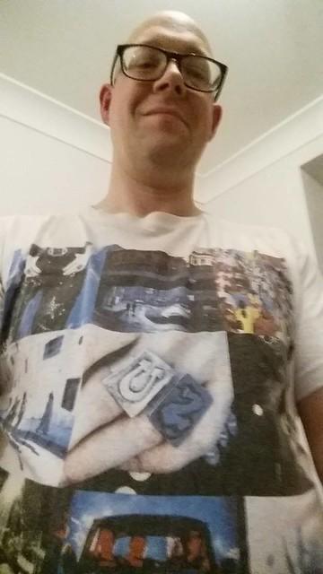 U2 shirt 12 Jan 2015