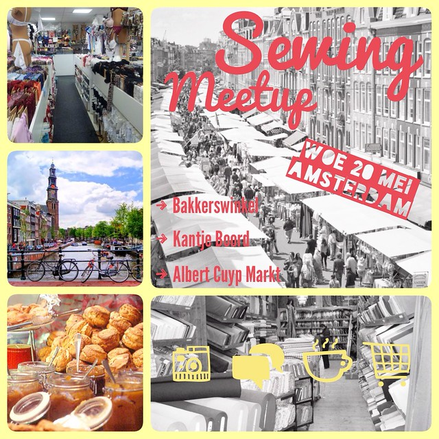 Sewing meetup Amsterdam