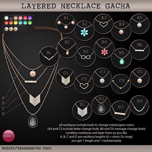 Layered Necklace Gacha