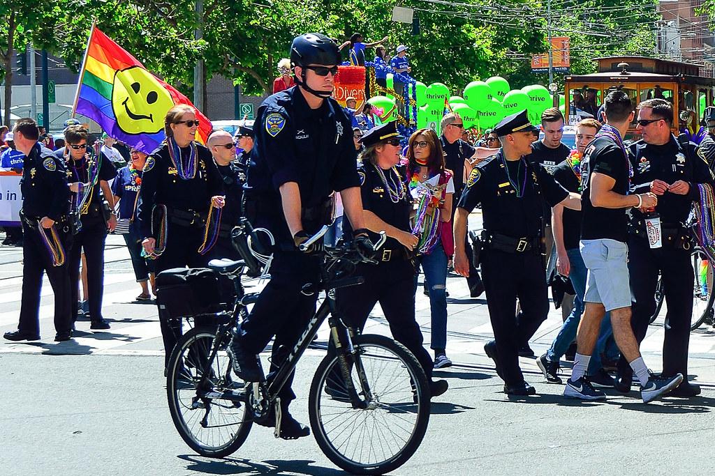 San Francisco Police Department Sf Pride Parade 2016