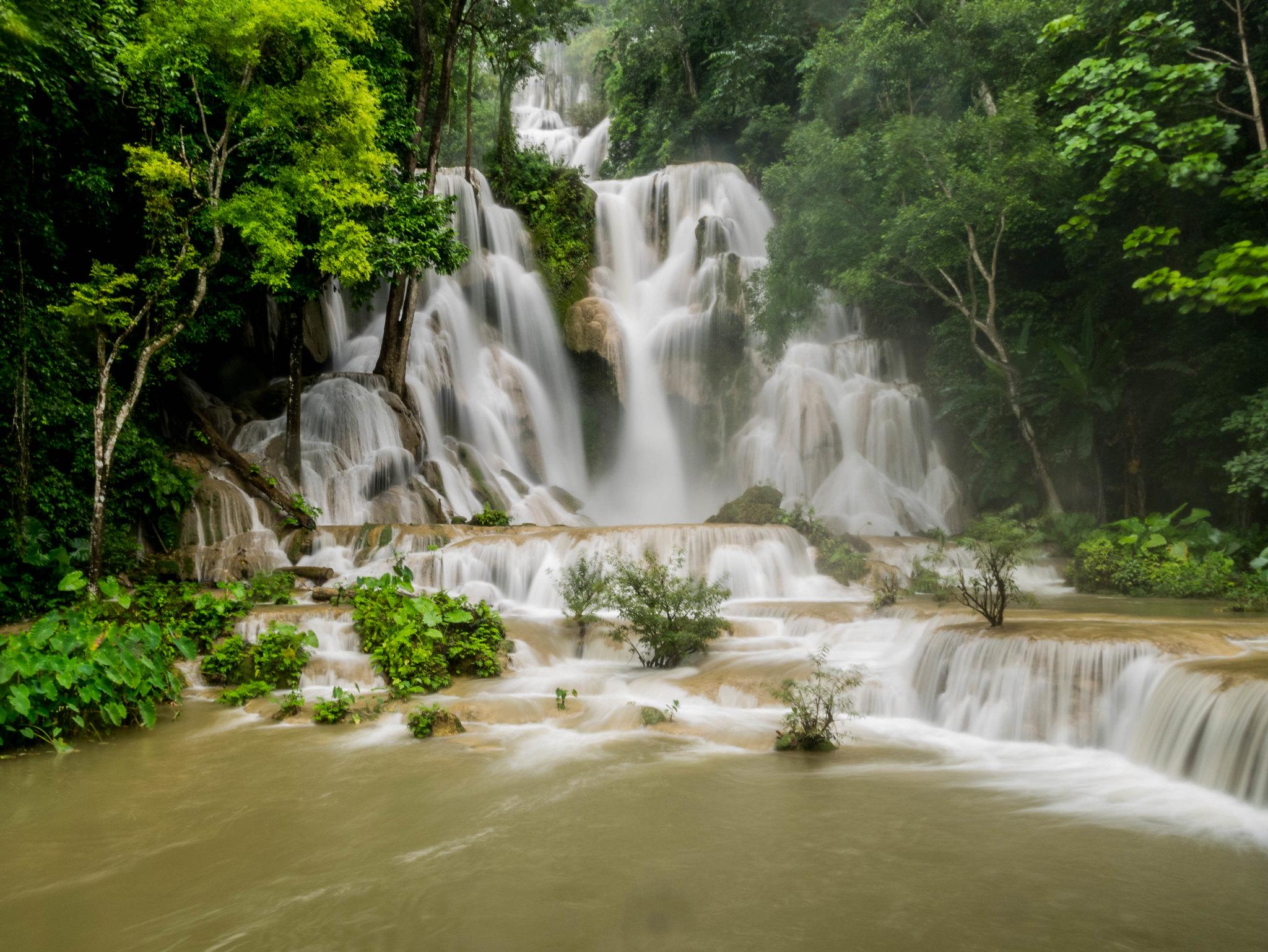Kuang Si Waterfalls