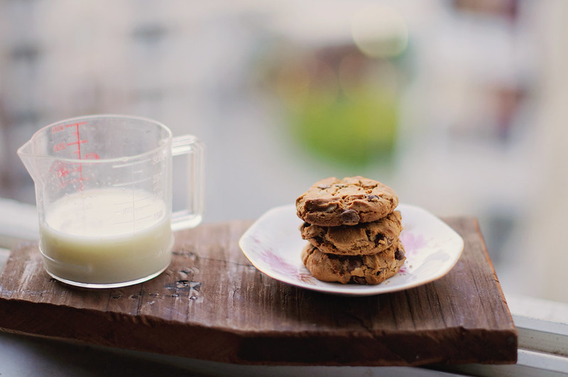 Day 72.365 - Milk and Cookies