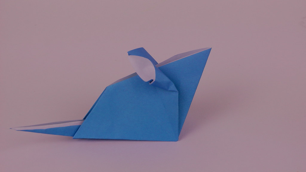 Origami Traditional Mouse A Snapshot Of An Origami Mouse Flickr