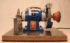 Станочек отрезной-точильный-шлифовальный на основе ДиолД ЭТ-150