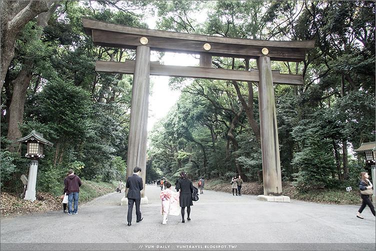 東京自由行 ︱散策明治神宮.森林公園內的浪漫婚禮