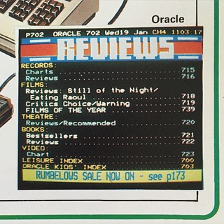 Name the year? #oracle #channel4 #ceefax #teletext | by gingerbeardman