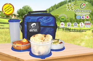 ITEM-NO---037-Lunch-Box-with-1-big-+-2-Small-Container | by Best Corporate Gifts