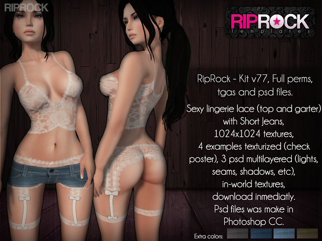RipRock - Kit psd files V77  POSTER