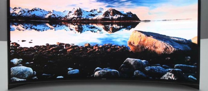 OLED TV Samsung ultra thin surfaces only $ 13,000