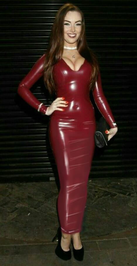 Red Corset Dress