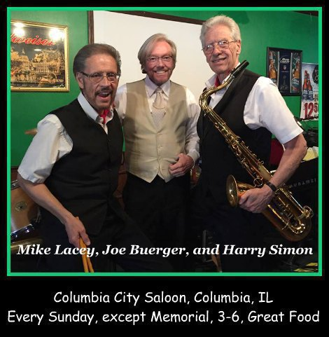 Mike Lacey, Joe Buerger, and Harry Simon 8-14-16