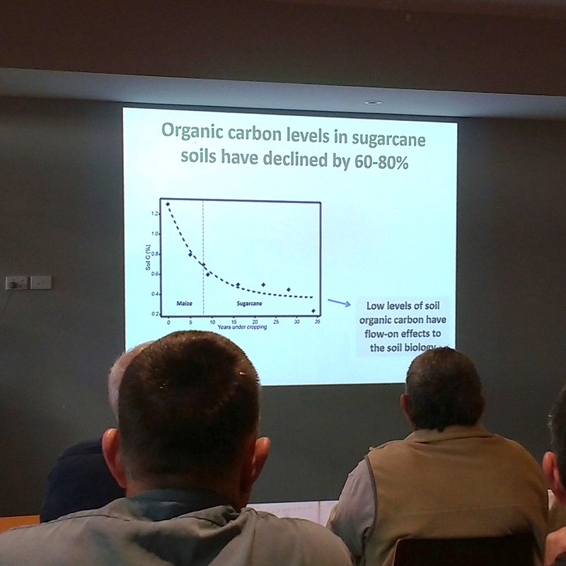 soil carbon decline by year