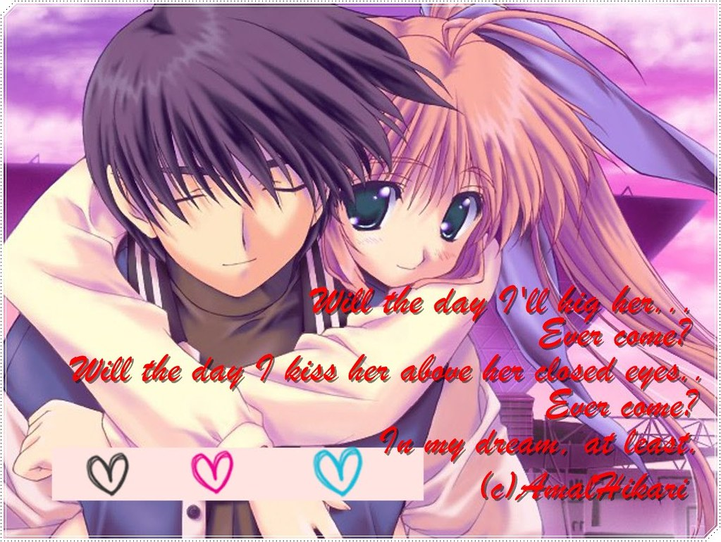 cute Anime Love Quotes Wallpaper Download Free cute Anime ? Flickr