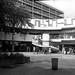St George's Shopping Centre, Preston. The Bull Ring. September 1974