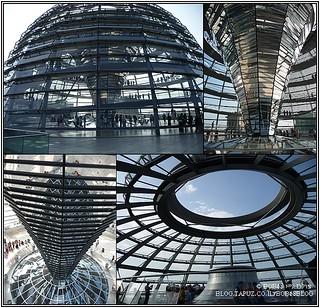 ברלין - כיפת הזכוכית בראש הרייכסטאג