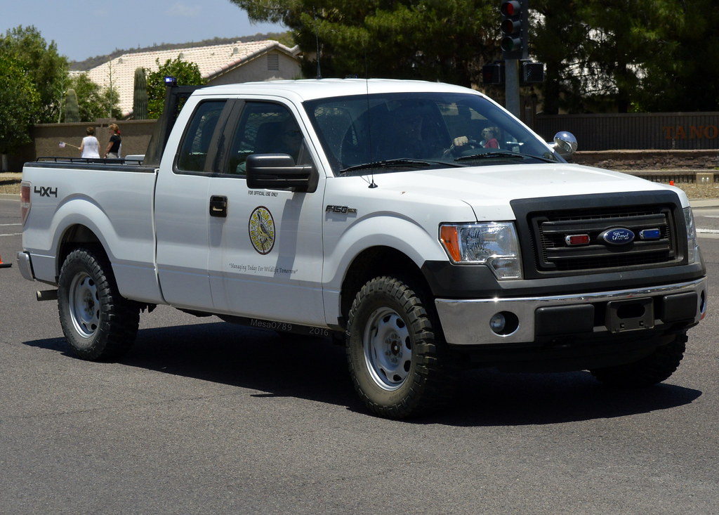 arizona game and fish warden law enforcement ford f 150