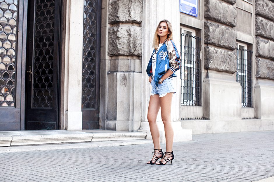 embroidered-satin-bomber-outfit-street-style