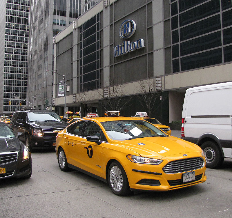 New York City Ford Fusion Taxi Cab 2b97 2015 Ford Fusion