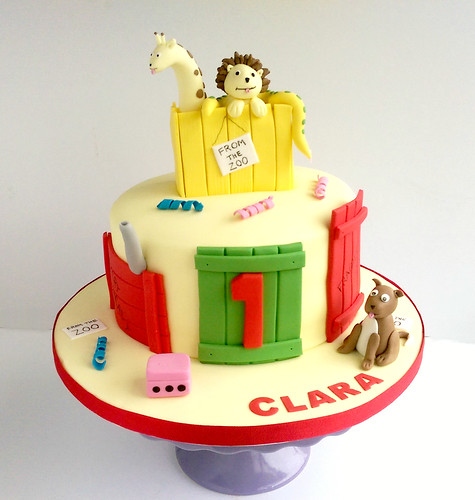 Dear Zoo Cake Ideas