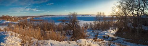 Ishim river by Andrey Nagaycev