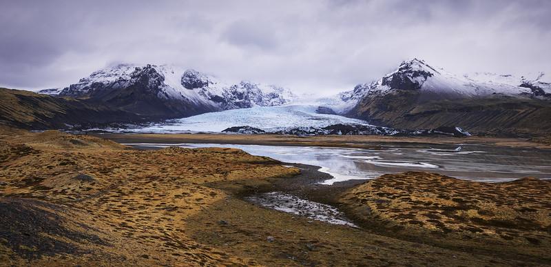 v a t n a   south iceland