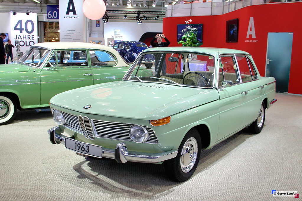 1962 - 1964 BMW 1500 | See more car pics on my facebook ...