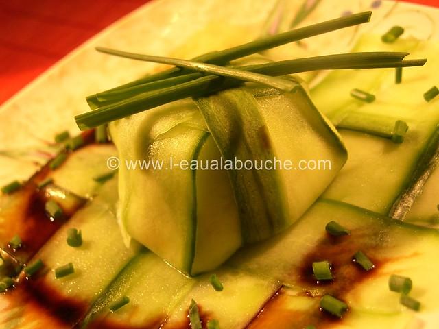 Petit Délice de Concombre au Chèvre Frais © Ana Luthi Tous droits réservés 01