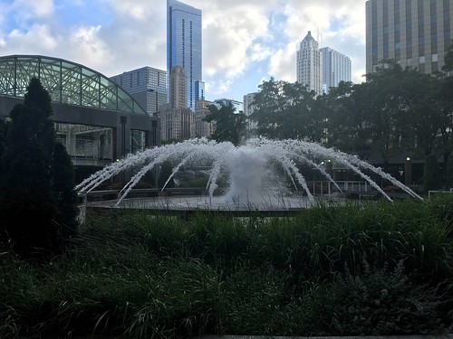 Fountain at the Aon Building | by pacificpelican