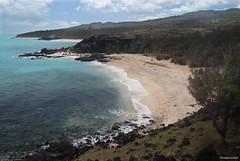 Rodrigues : la côte sud-est vue de la pointe Roche noire