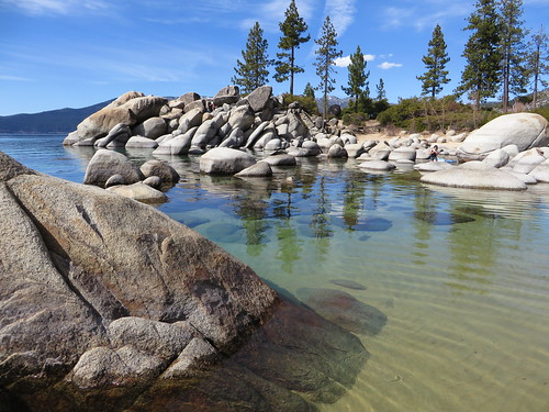 Sand Harbor, Lake Tahoe State Park, Near Incline Village, Nevada